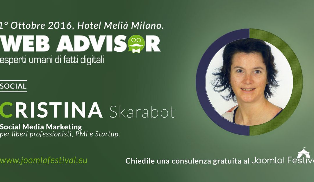 Sei un protagonista del web o vuoi investire in web marketing? Ti aspetto al Joomla Festival 2016