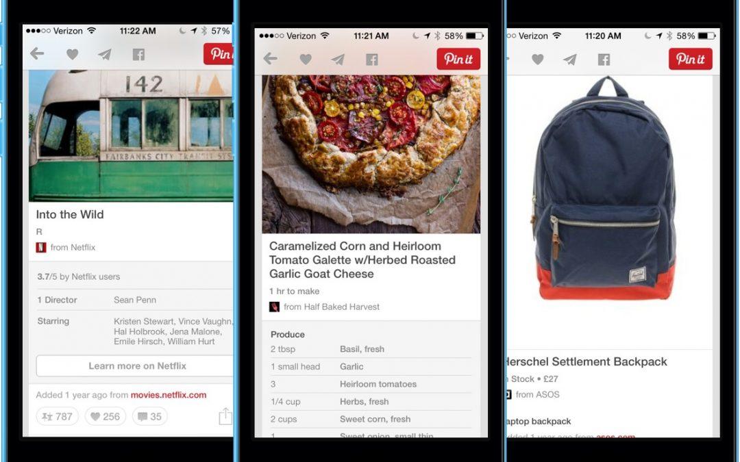 Pinterest e l'importanza dei Rich Pin